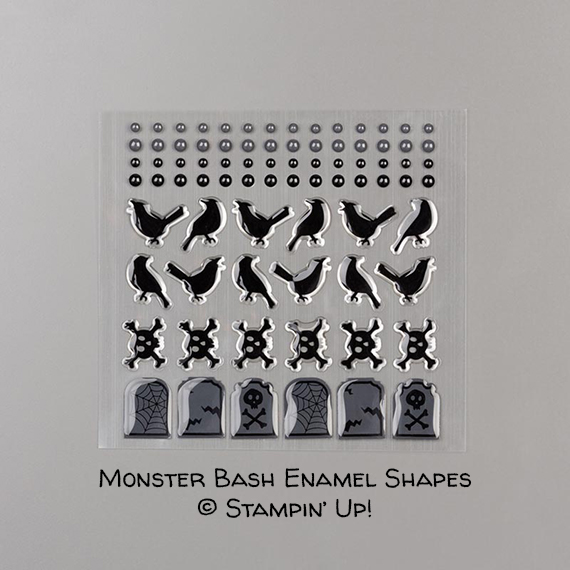 Monster Bash Enamel Shapes © Stampin' Up!