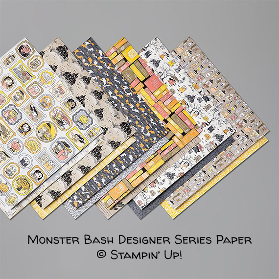 Monster Bash Designer Series Paper © Stampin' Up!