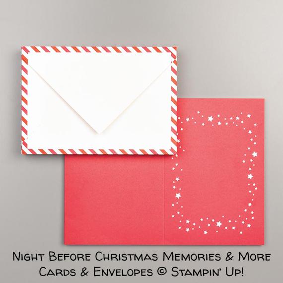Night Before Christmas Memories & More Cards & Envelopes © Stampin' Up!