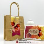 PPPBH 08-2019 Gift of Fall Paper Pumpkin card and bag made by Candy Ford #stampcandy