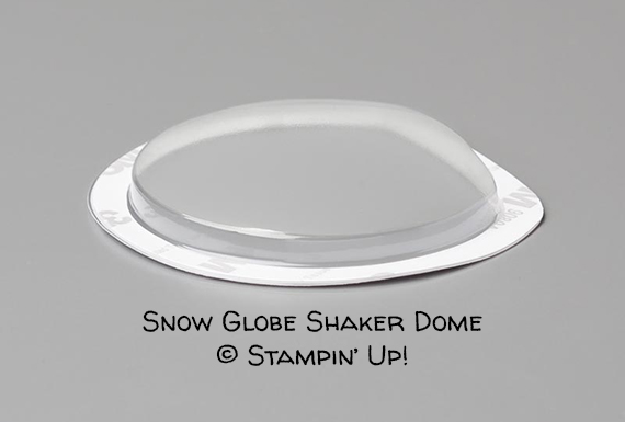 Snow Glode Shaker Domes © Stampin' Up!