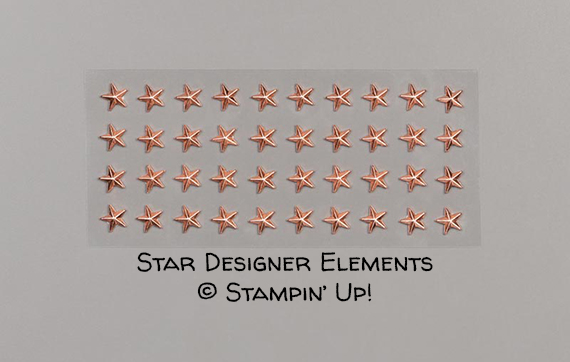 Star Designer Elements © Stampin' Up!
