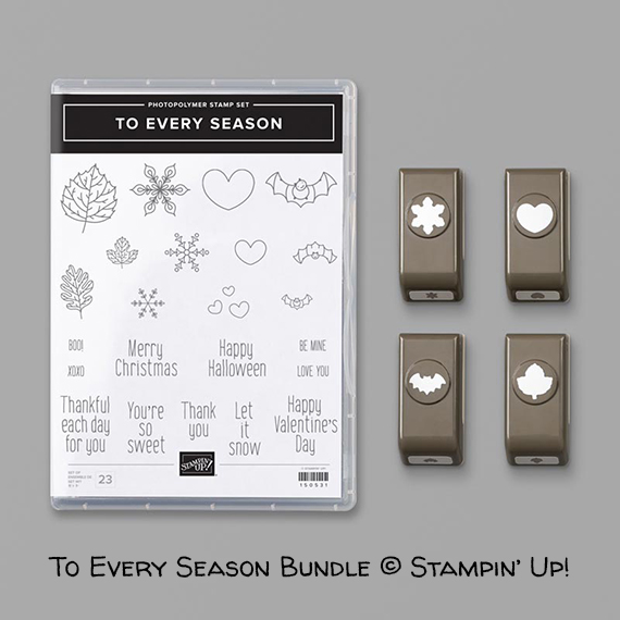 To Every Season Bundle © Stampin' Up!