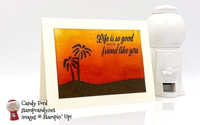 Friend Like You Sunset Card