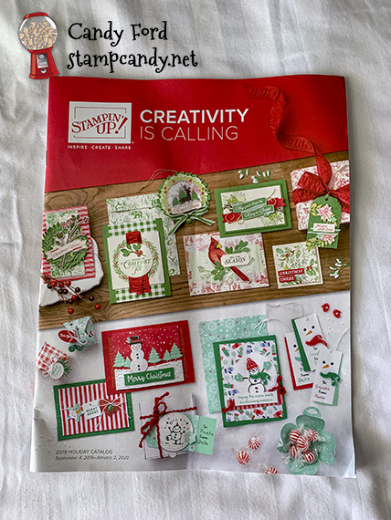 2019 Holiday Catalog from Stampin' Up! #stampcandy