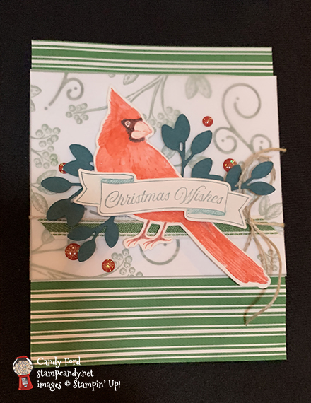 2019 Incentive Trip - holiday catalog #stampcandy