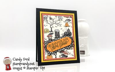 Halloween Bash Card