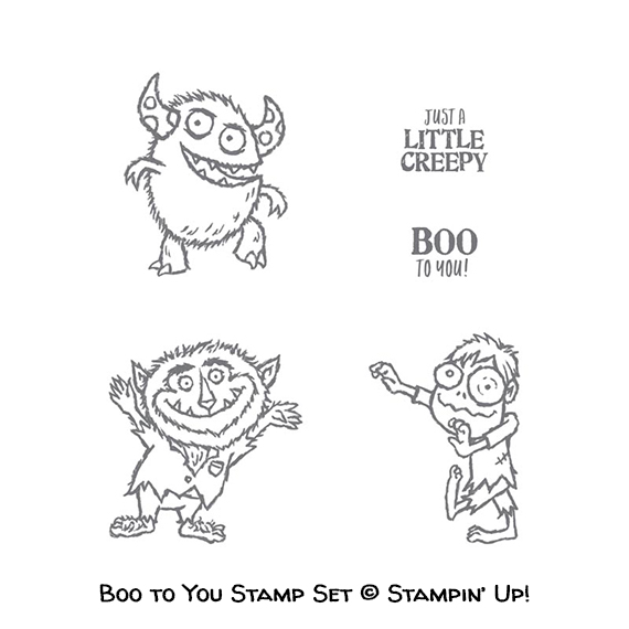 Boo to You stamp set © Stampin' Up!