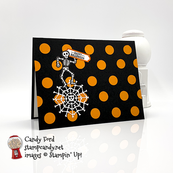 Bone Appetit Paper Pumpkin kit alternate projects by Candy Ford #stampcandy for the APPT Blog Hop