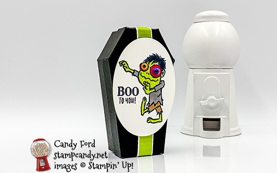 Boo to You Everything Festive Coffin Treat Box