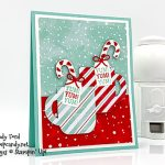 Cup of Christmas bundle yum card. Stampin