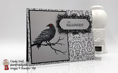 The Raven It's Halloween Card