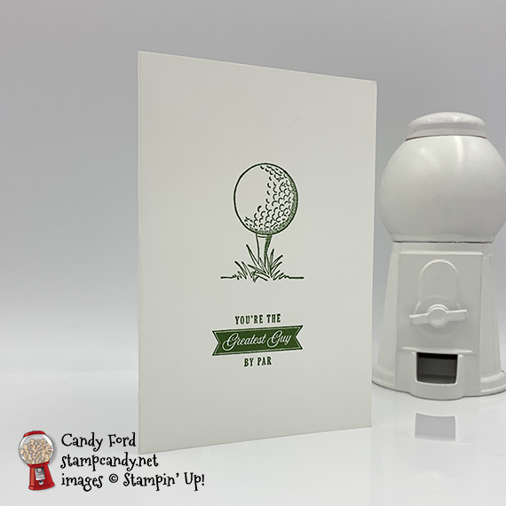 Stampin' Up! Country Club Suite Beginner Card by Candy Ford of Stamp Candy for OnStage 2019 in Atlanta