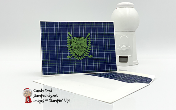 Country Club Father's Day Note Card & Envelope