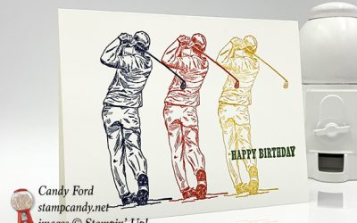 Clubhouse Triple Birthday Card