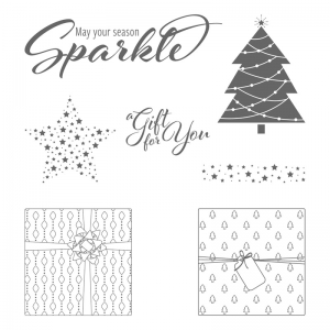Add a Little Glitz Stamp Set © Stampin' Up!