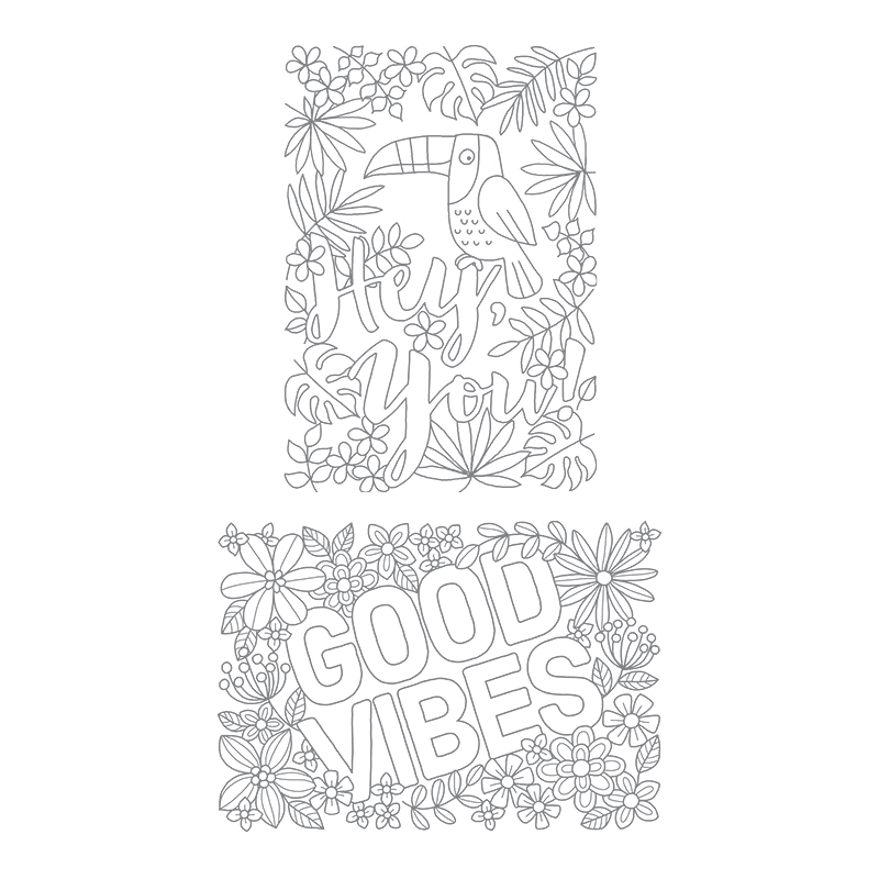 Good Vibes stamp set by Stampin' Up!