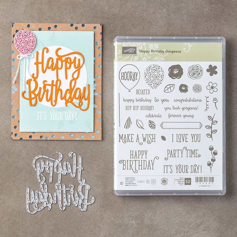 Happy Birthday Gorgeous Bundle © Stampin' Up!