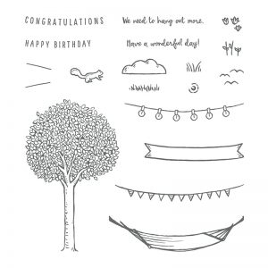 In the Trees stamp set © Stampin' Up!