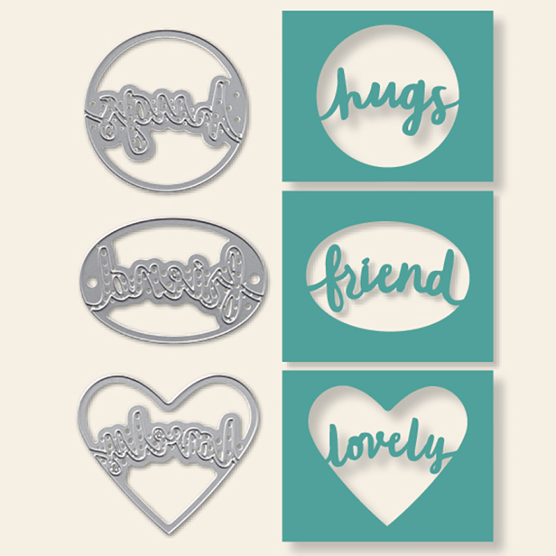 Lovely Words Thinlits Dies © Stampin' Up!