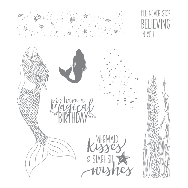Magical Mermaid stamp set © stampin' Up!