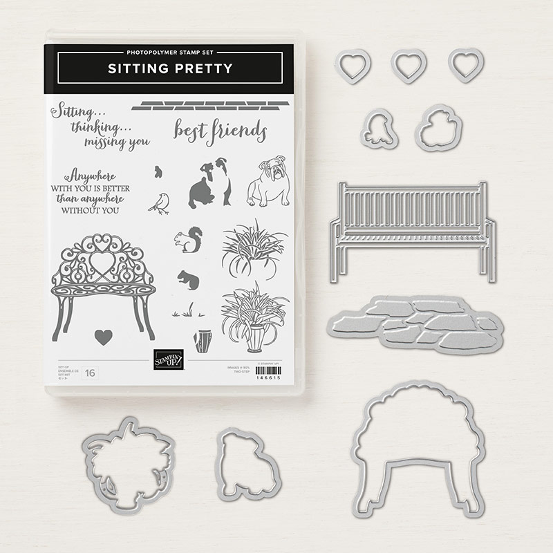 Sitting Pretty Bundle © Stampin' Up!