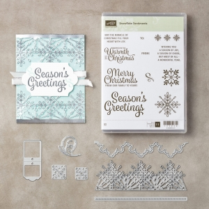 Snowflake Sentiments stamp set by Stampin' Up!
