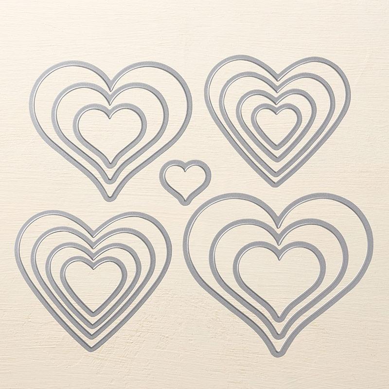 Sweet & Sassy Framelits Dies © Stampin' Up!