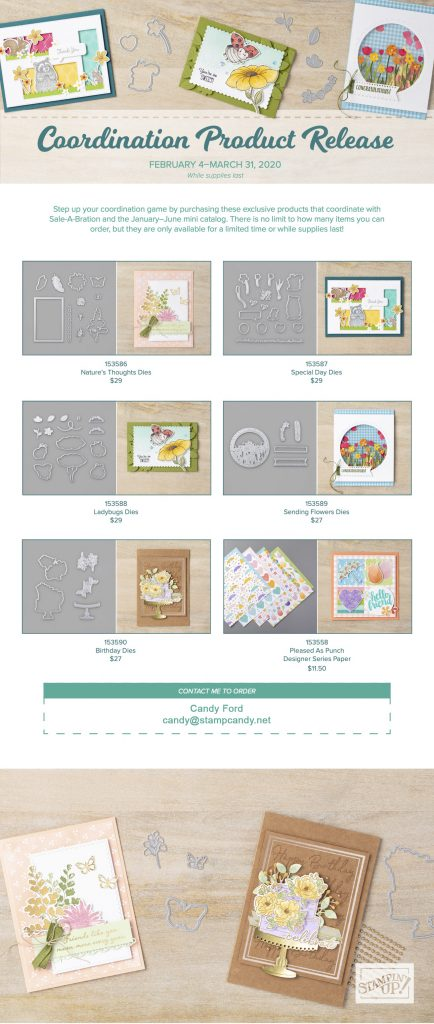 Stampin' Up! Coordination Product Release 02-2020