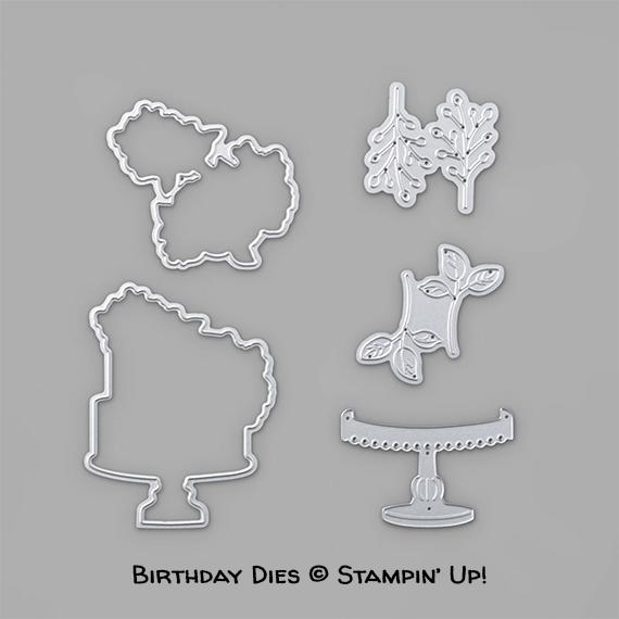 Birthday Dies © Stampin' Up!