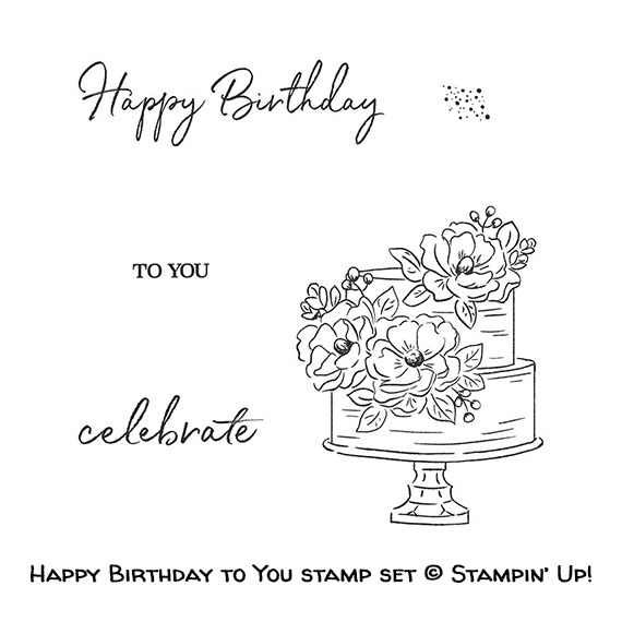 Happy Birthday to You stamp set © Stampin' Up!