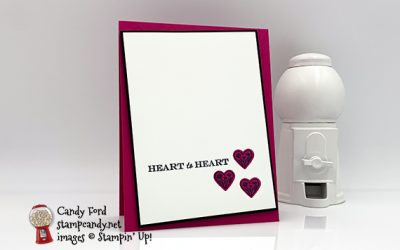 Heart to Heart Post-Valentine's Day Card