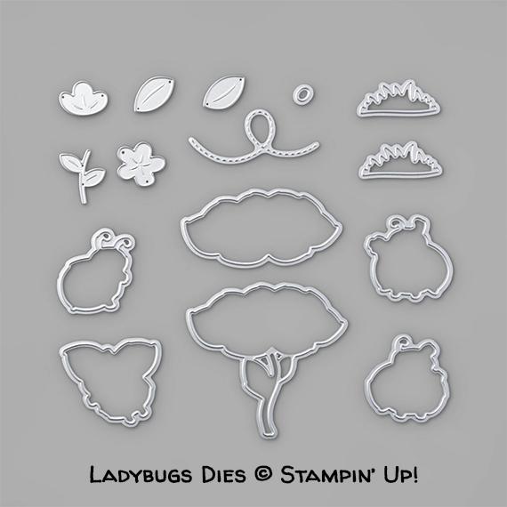 Ladybugs Dies © Stampin' Up!