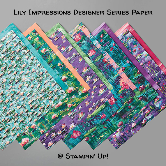 Stampin' Up! Sale-A-Bration Lily Impressions Designer Series Paper