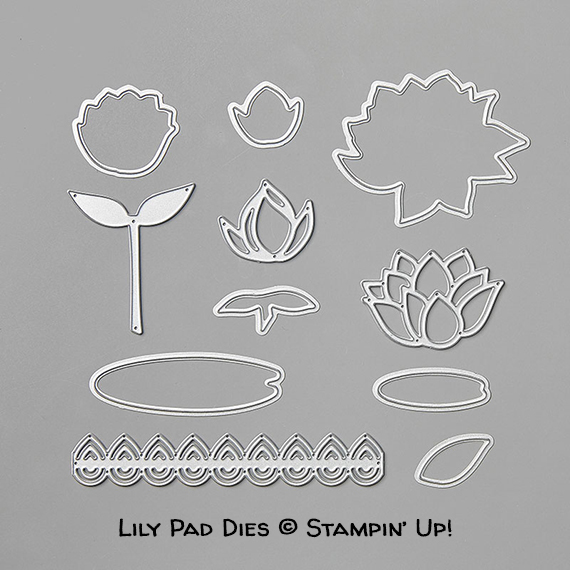 Stampin' Up! Sale-A-Bration Lily Pad Dies