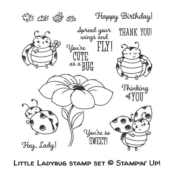 Little Ladybug stamp set © Stampin' Up!