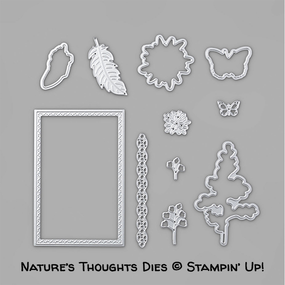 Nature's Thoughts Dies © Stampin' Up!