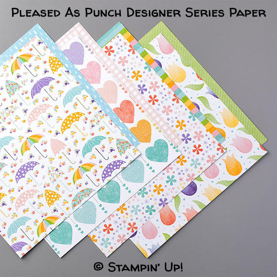 Pleased As Punch Designer Series Paper © Stampin' Up!