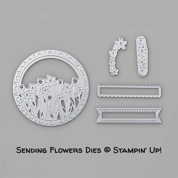 Sending Flowers Dies © Stampin' Up!