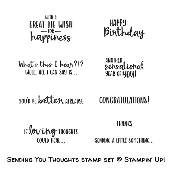 Sending You Thoughts stamp set © Stampin' Up!