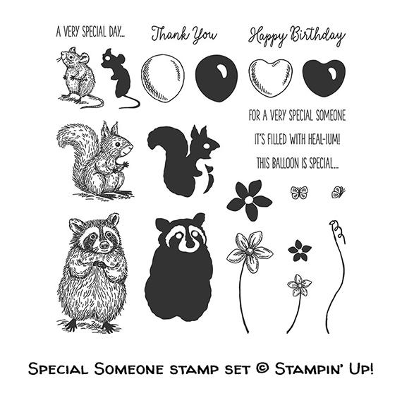 Special Someone stamp set © Stampin' Up!