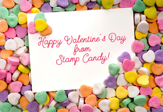 Happy Valentine's Day from #stampcandy
