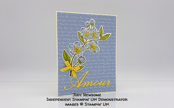 Forever Blossoms Amour Card by Judy Newsome