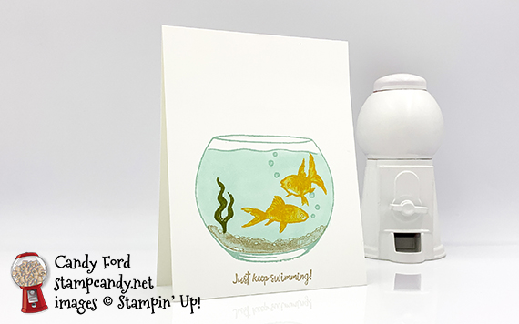 Make A Splash Card for Fast & Simple Friday