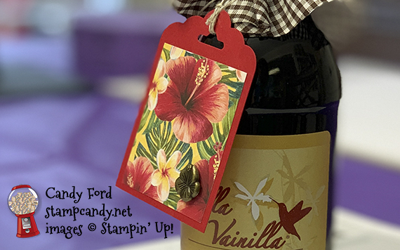 Fast & Simple Tropical Oasis Tag