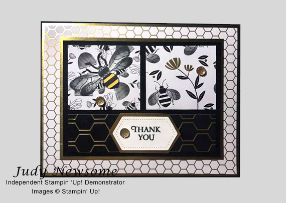 Judy Newsome's cards and projects made using Stampin' Up! products for CHFB Challenge 02-2020