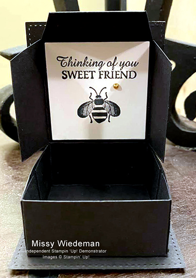 Missy Wiedeman's cards and projects made using Stampin' Up! products for CHFB Challenge 02-2020