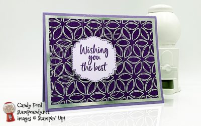 Wishing You the Best with Tags In Bloom & Flowering Foils