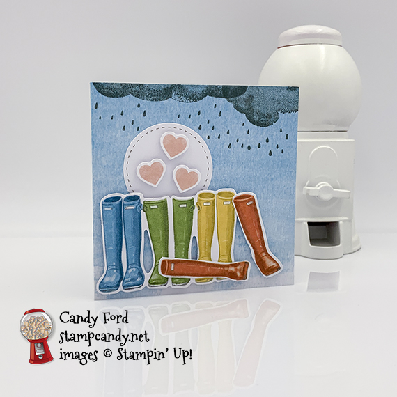 Stampin Up! Paper Pumpkin March 2020 No Matter The Weather, APPT Blog Hop #stampcandy