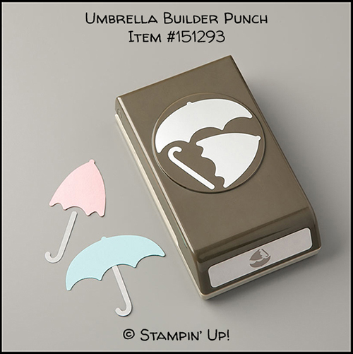 Umbrella Builder Punch © Stampin' Up!